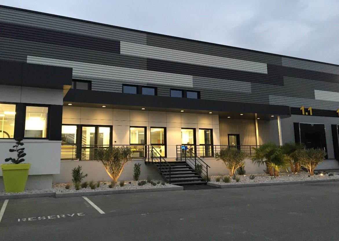 Logistique Alainé - extension des bureaux